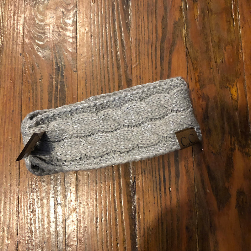 CC Headband with Sherpa Lining
