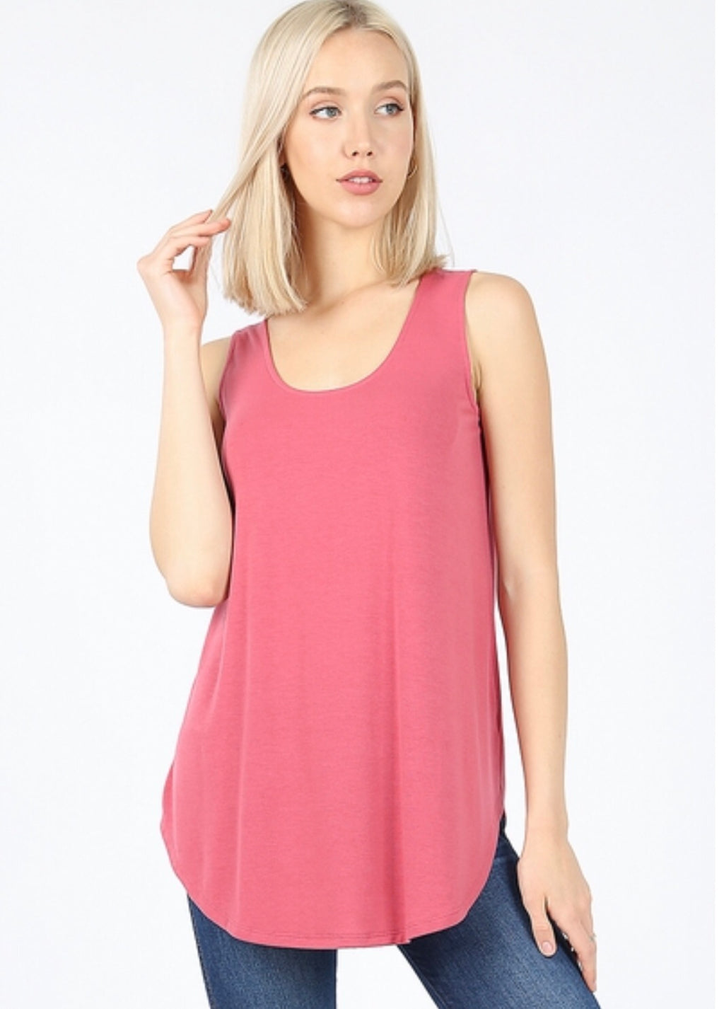 Basic Scoop Neck Tanks