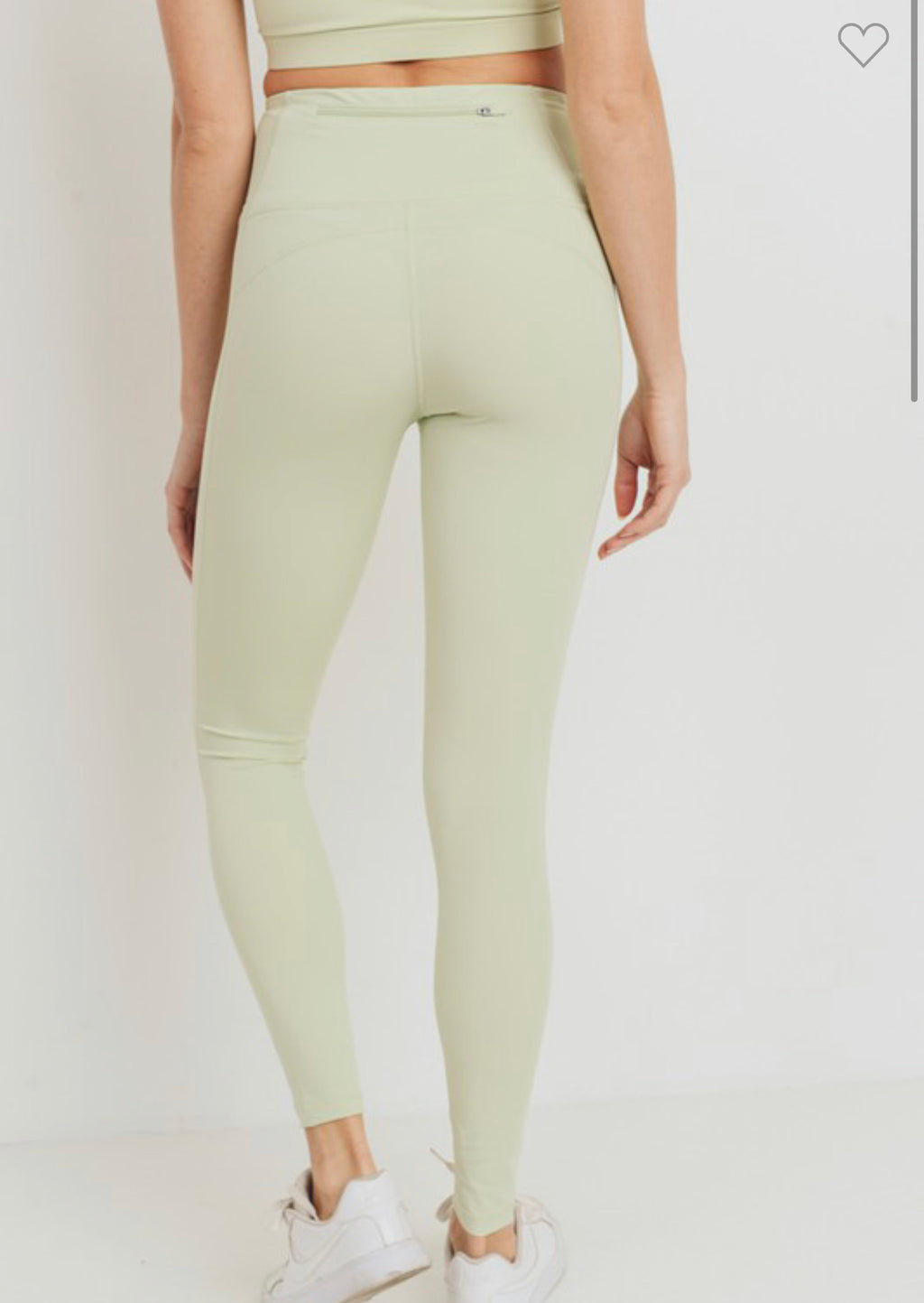 Moss Green Athletic Leggings