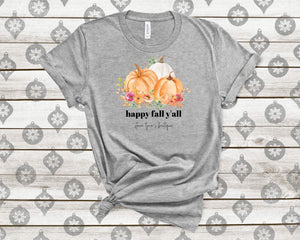 Happy Fall Y'all SLB tee