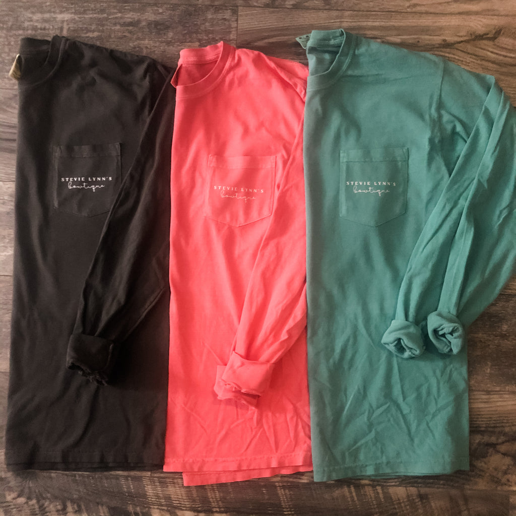 SLB Pocket Long Sleeve Top