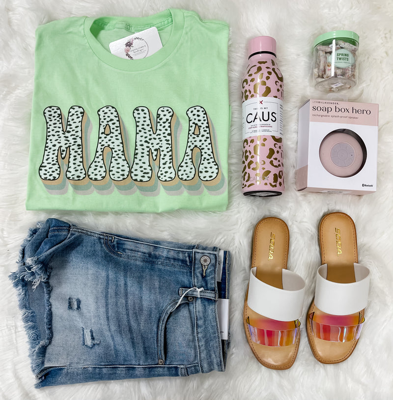 Retro Mama Graphic Tee