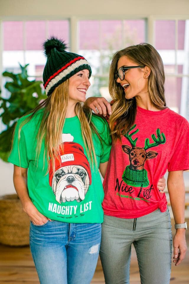 Naughty or Nice Graphic Tee