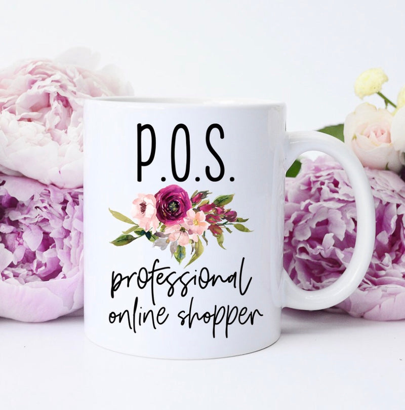 Professional Online Shopper Coffee Mug