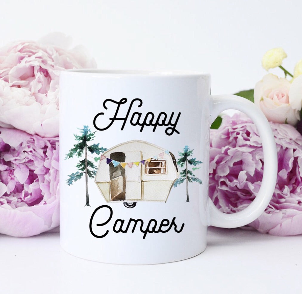 Happy Camper Cup Mug