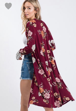 Floral in Love Duster
