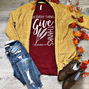 In Everything Give Thanks Tee