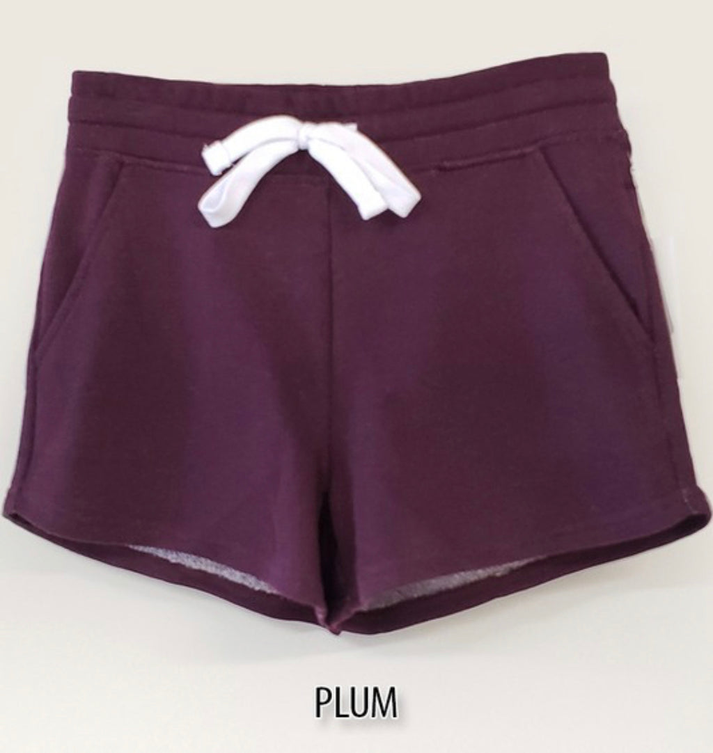 Plum Lounge Shorts