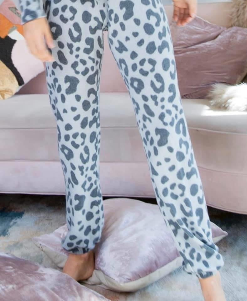 Super Soft Leopard Joggers- Multiple Colors