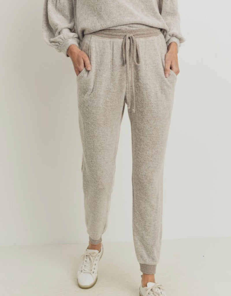 Blanket Soft Joggers- H. Taupe