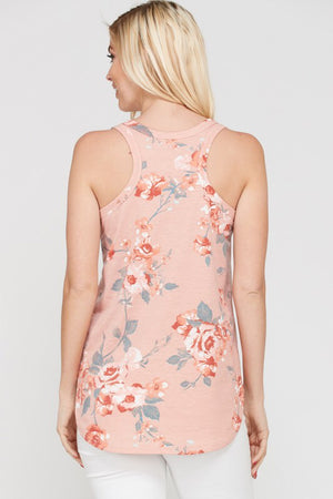 Better Now Floral Tank