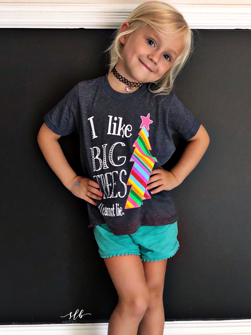 I Like Big Trees Kids Tee