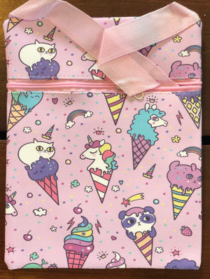 Cat Ice Cream Purse
