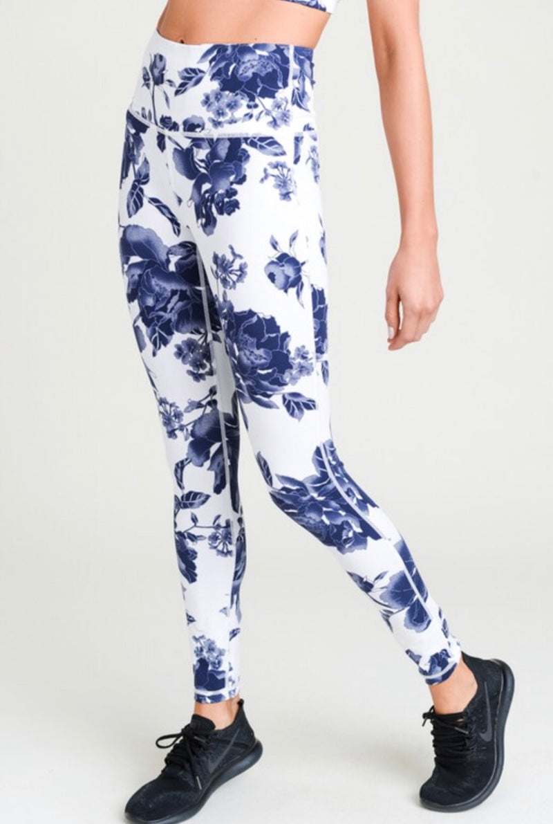 Athletic Leggings -Multiple Prints