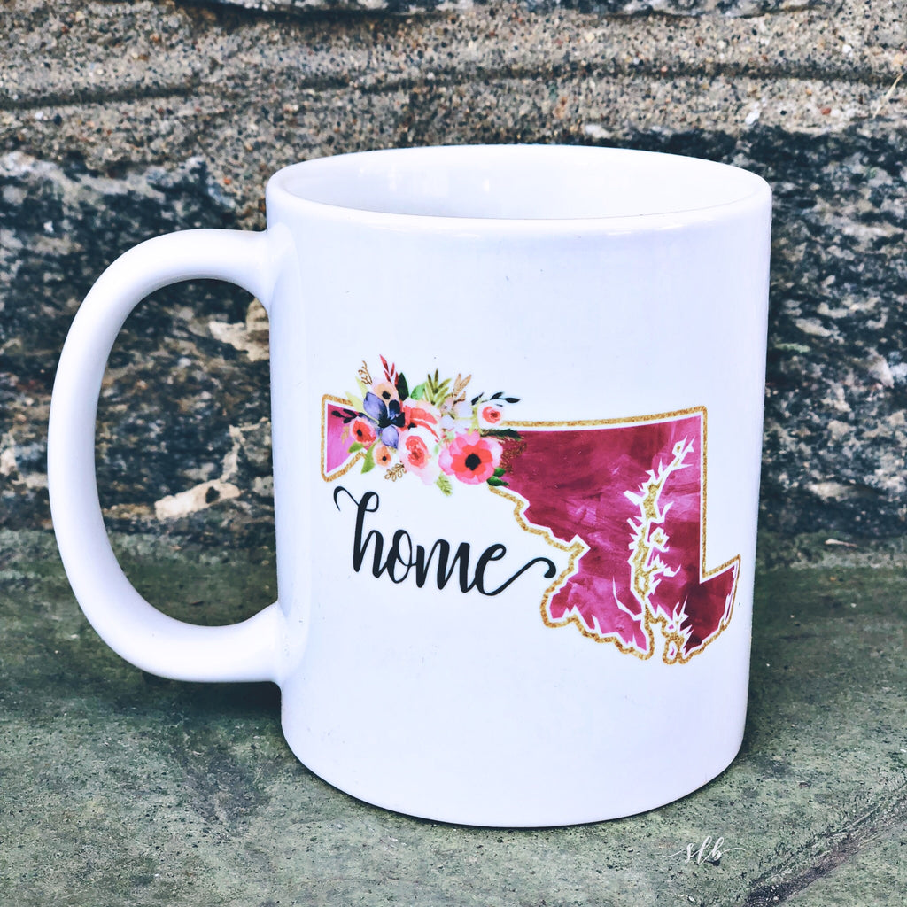 Maryland Home Coffee Mug