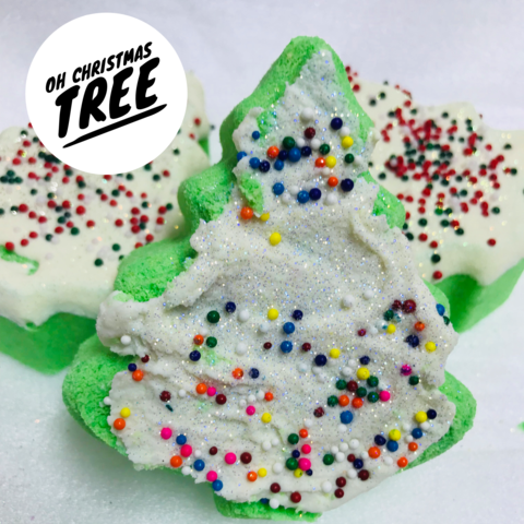 JJB Christmas Tree Bath Bomb