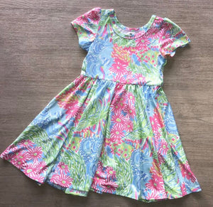 Pink Lilly Dress