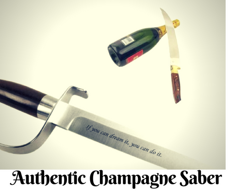 Authentic Champagne Saber