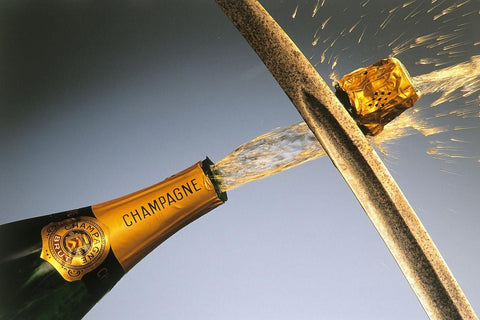 sabering champagne