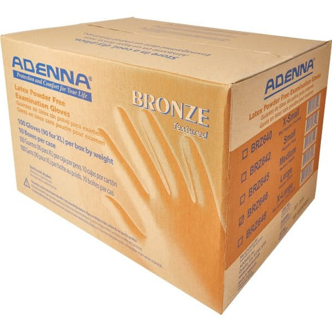 Adenna Bronze Latex Gloves Cases