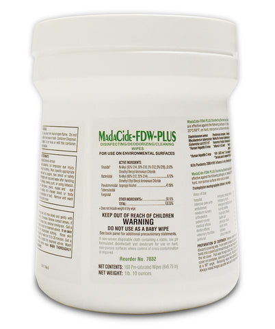 Madacide-FD 160 ct. Wipes