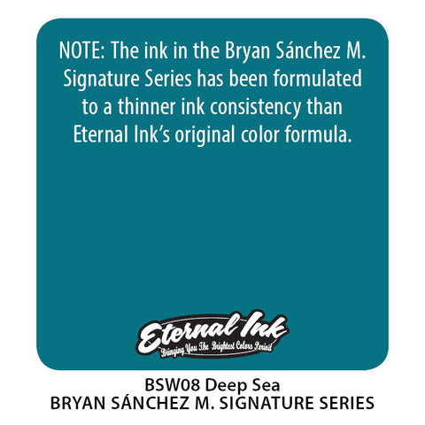 Eternal Ink - Bryan Sanchez M. Watercolor Deep Sea