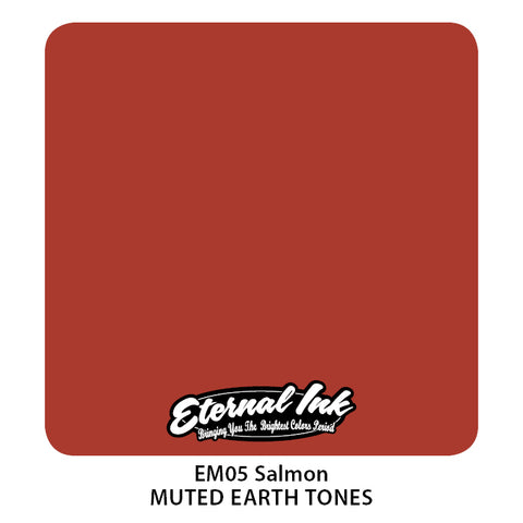 Eternal Ink - Muted Earth Tone Salmon