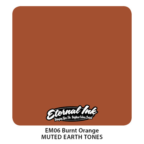 Eternal Ink - Muted Earth Tone Burnt Orange