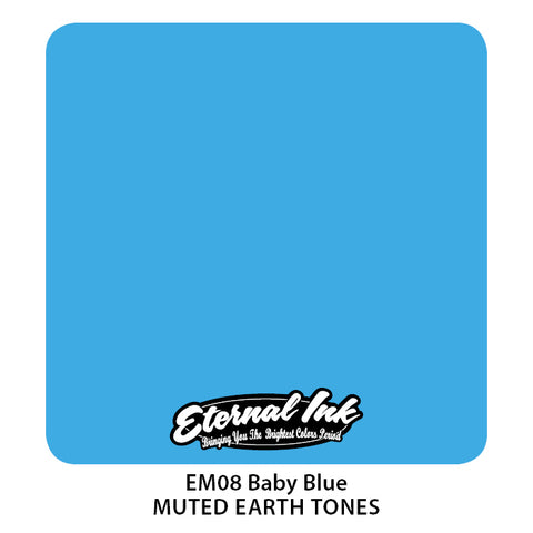 Eternal Ink - Muted Earth Tone Baby Blue