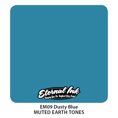Eternal Ink - Muted Earth Tone Dusty Blue