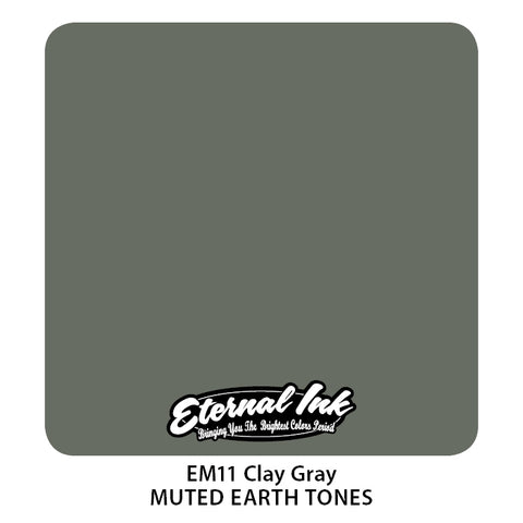 Eternal Ink - Muted Earth Tone Clay Gray