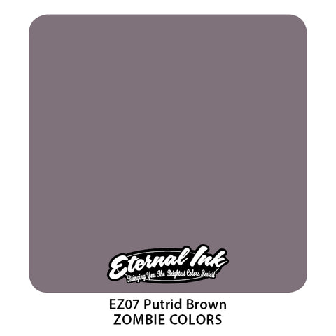 Eternal Ink - Zombie Color Putrid Brown
