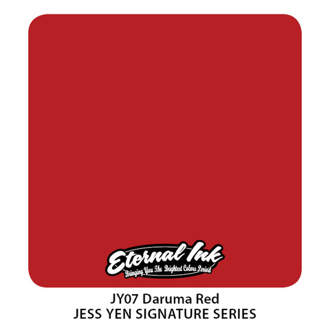 Eternal Ink - Jess Yen Daruma Red