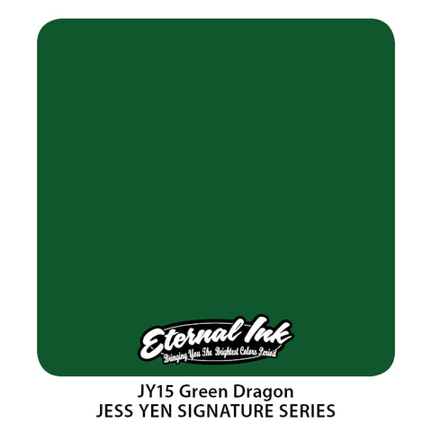 Eternal Ink - Jess Yen Green Dragon