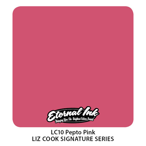 Eternal Ink - Liz Cook Pepto Pink