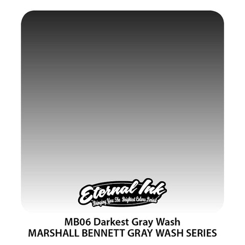 Eternal Ink - Marshall Bennett Darkest Gray Wash