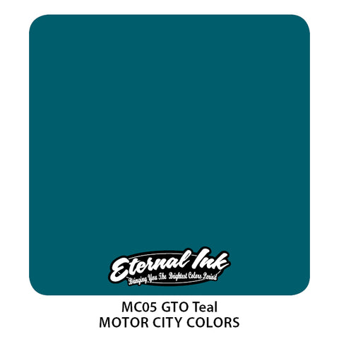 Eternal Ink - Motor City GTO Teal