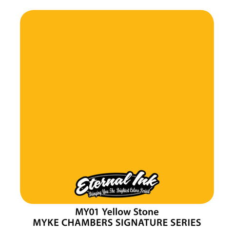 Eternal Ink - Myke Chambers Yellow Stone