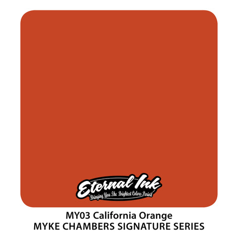 Eternal Ink - Myke Chambers California Orange