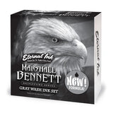 Eternal Ink - NEW Marshall Bennett Signature Gray Wash Set