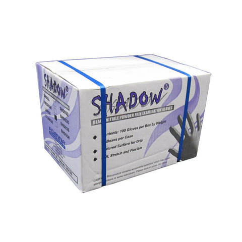 Adenna Shadow Black Nitrile Gloves Cases