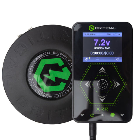 Critical XRR Power Supply Combo w/ CXP Wireless Foot Pedal