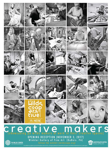 Creative Makers Exhibit: Poster