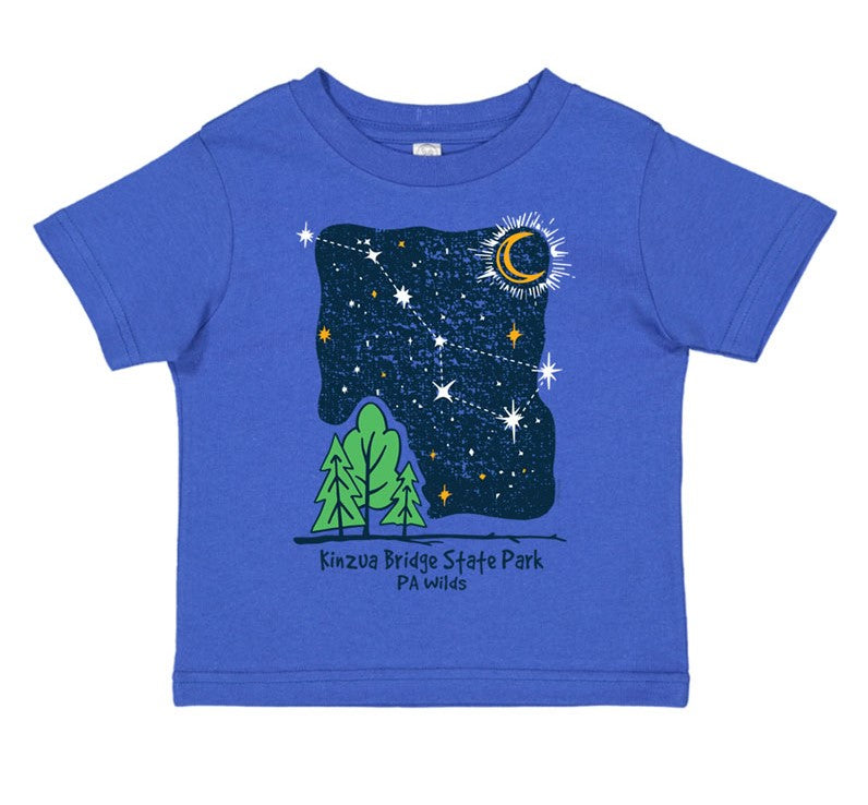 Nite Sky with Trees Toddler T-Shirt
