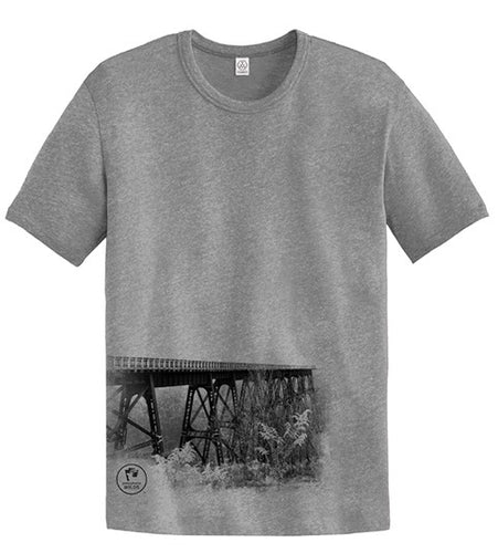 Adult PA Wilds Bridge Photo Short Sleeve