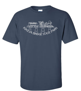 Adult Kinzua Train T-Shirt