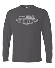 Load image into Gallery viewer, Adult Long Sleeve Kinzua Train T-Shirt