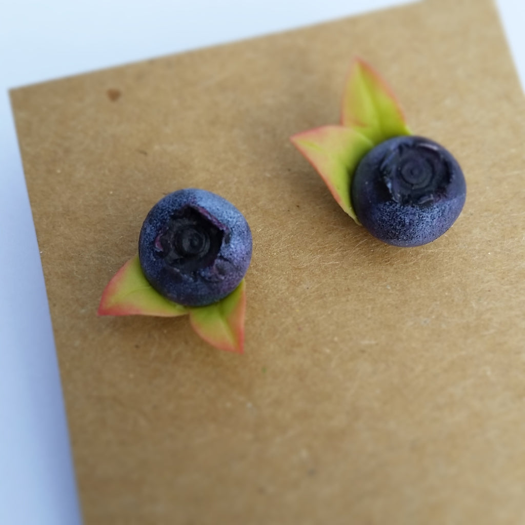 Blueberry Earrings