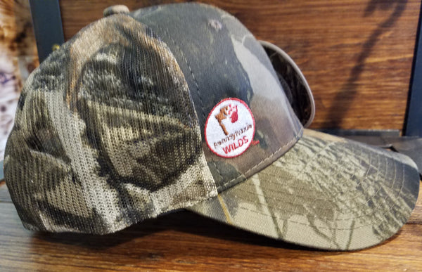 Camouflage Adult Cap with Mesh Back