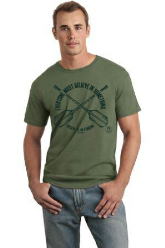 Adult Choose to Canoe T-shirt
